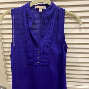 Banana Republic Purple Sleeveless Blouse. Size 00P